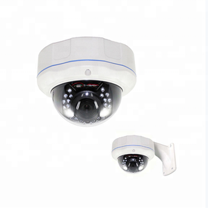 Enxun High Resolution 5MP IR Vandalproof dome cctv camera Auto Zoom IP camera with POE