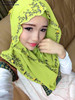 2015 new hot islamic dress hijab,Muslim green scarf whoelsae girl women