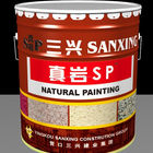 Natural Stone paint Water based Textured Building Coating Stone Paint