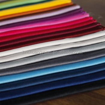 Dubai 100 Polyester Soft Touch Wholesale Velvet Fabric for Sale for Evening Dress Clothing