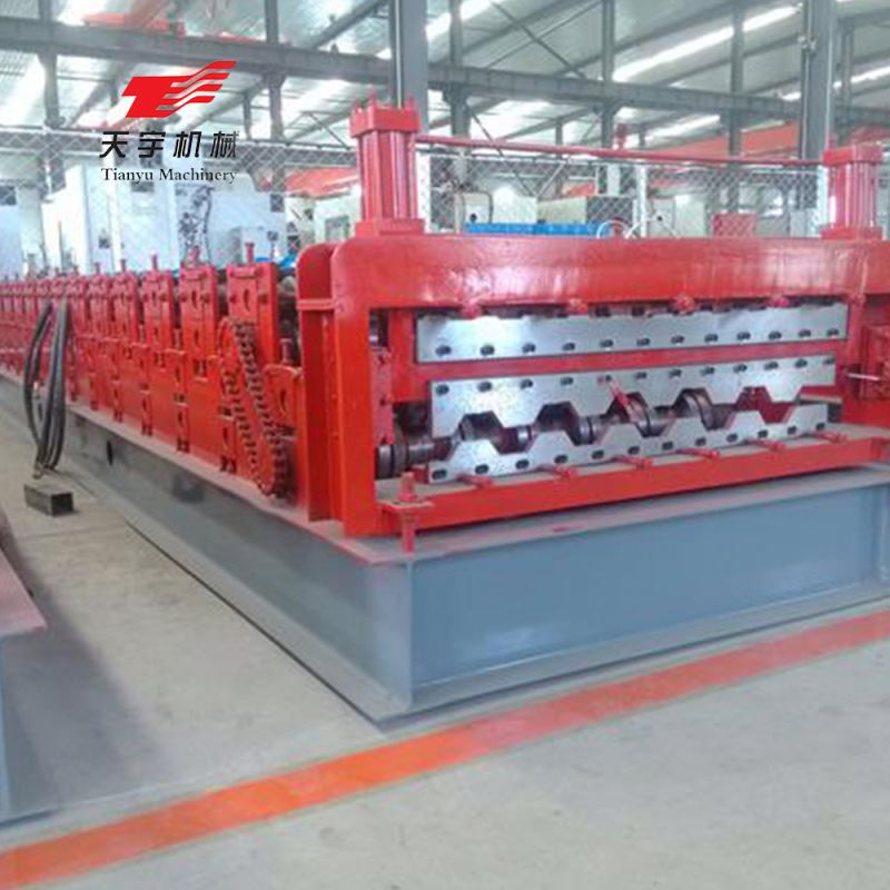 double layer Roofing corrugated galvanized metal sheet making machine