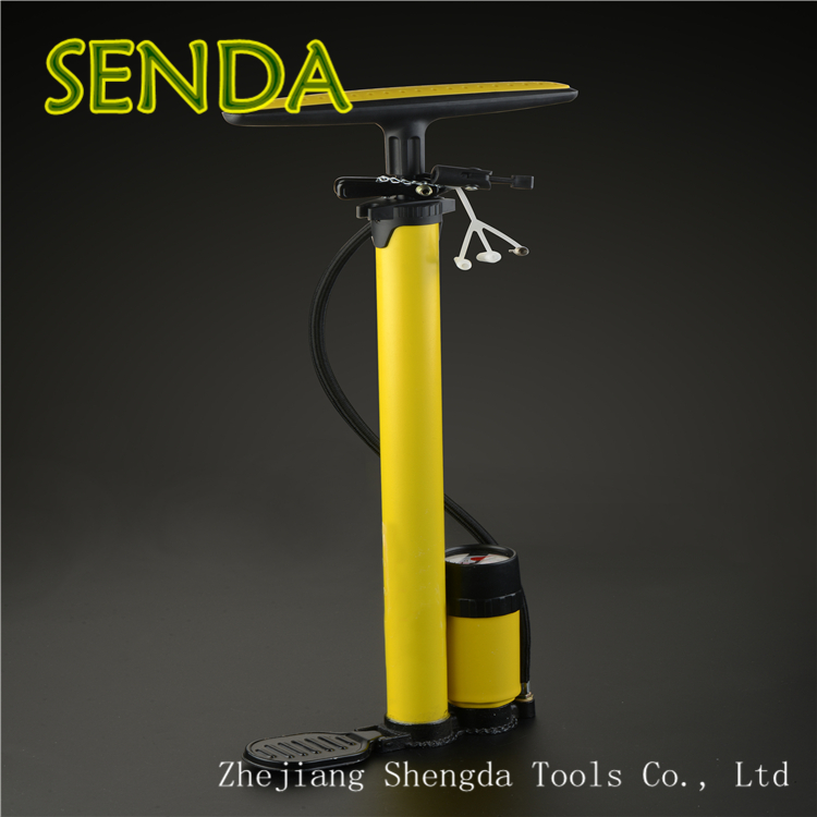 Bicycle Hand Air Pump With Manometer