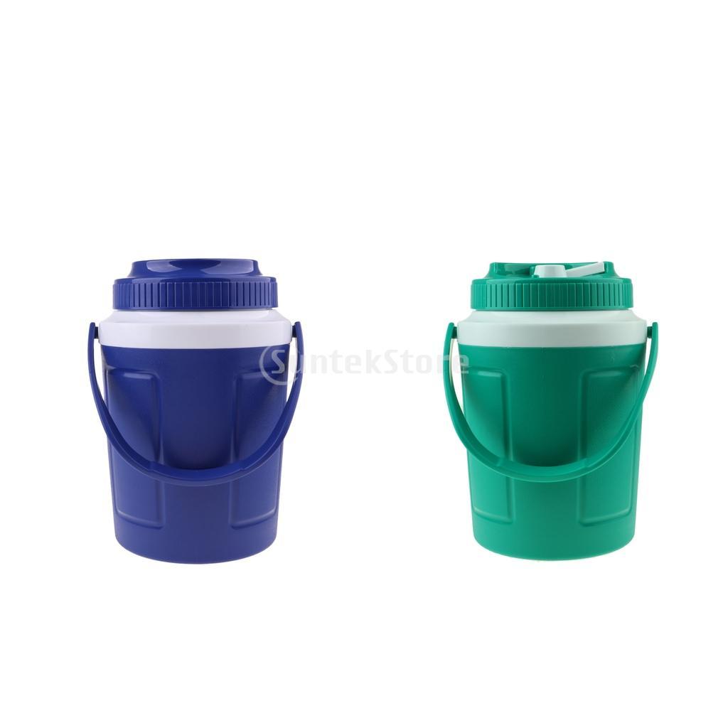 985b724b57137 Durable Ice Cube Cooler Red Wine Ice Bucket Beer Drinks Milk Cooler Round  Bucket Cooler Outdoors