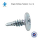HIgh quality best quality low carbon stainless steel wafer head self drilling screw