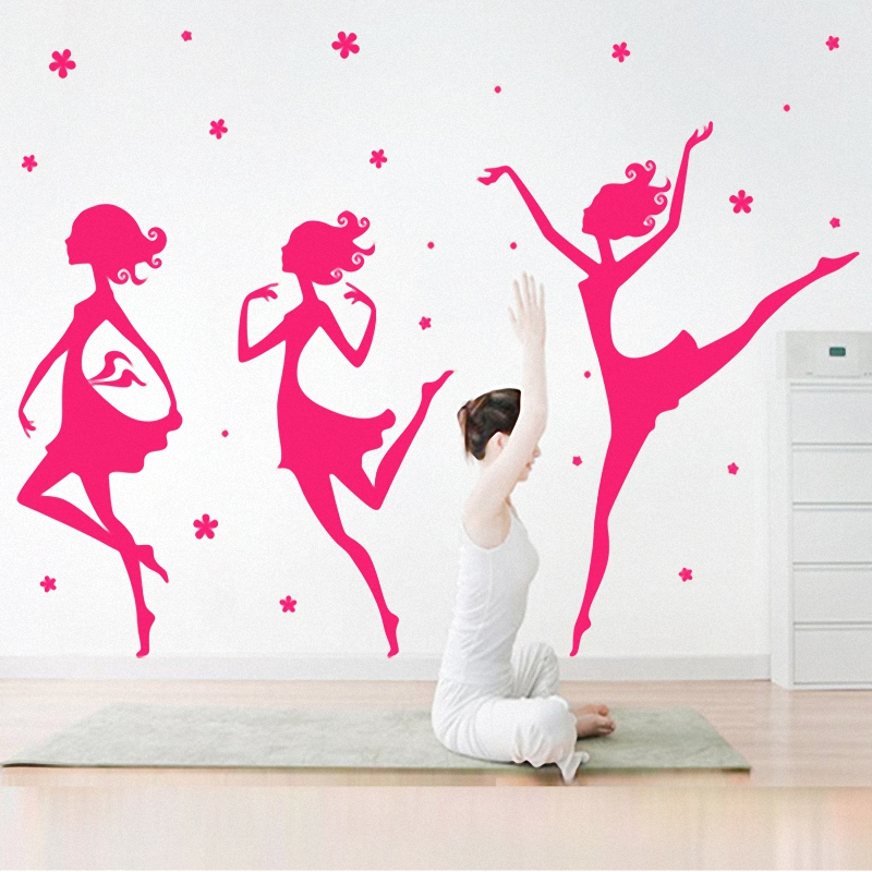 Buy The Ballet Dance Studio Wall Stickers Music Classroom Sitting Room Adornment Bedroom Wallpaper Dance Wallpaper In Cheap Price On Alibaba Com