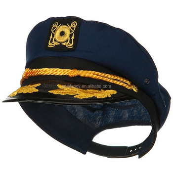 0dc7ad3c617ec Cap with deep blue military army office uniform captain sailor navy hats  captain hat QHAT-