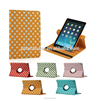 Tablet case For iPad Air 2 360 degree rotating For ipad 6 case Fashion grad leather case