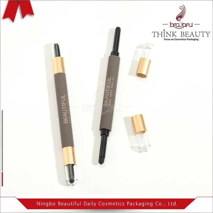 Fine appearance factory supply empty eyebrow pencil packaging