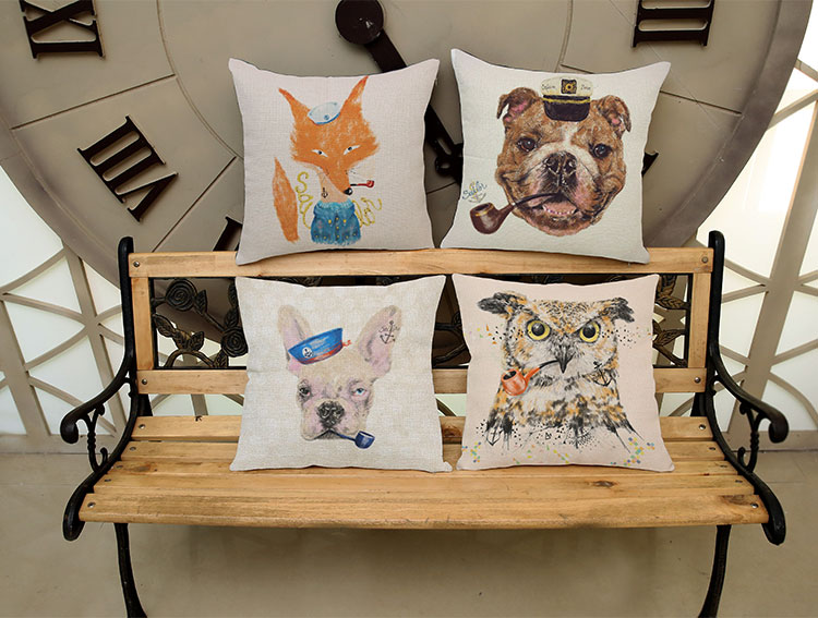 Lovely people die like a dog Square Pattern printing Luxury home Decorate Car sofa seat cushion cushions pillow Free shipping