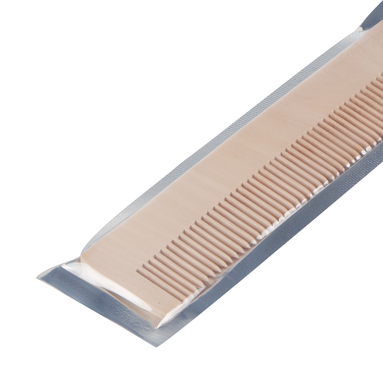 hotel wooden comb, wood comb for hotel hotel amenities