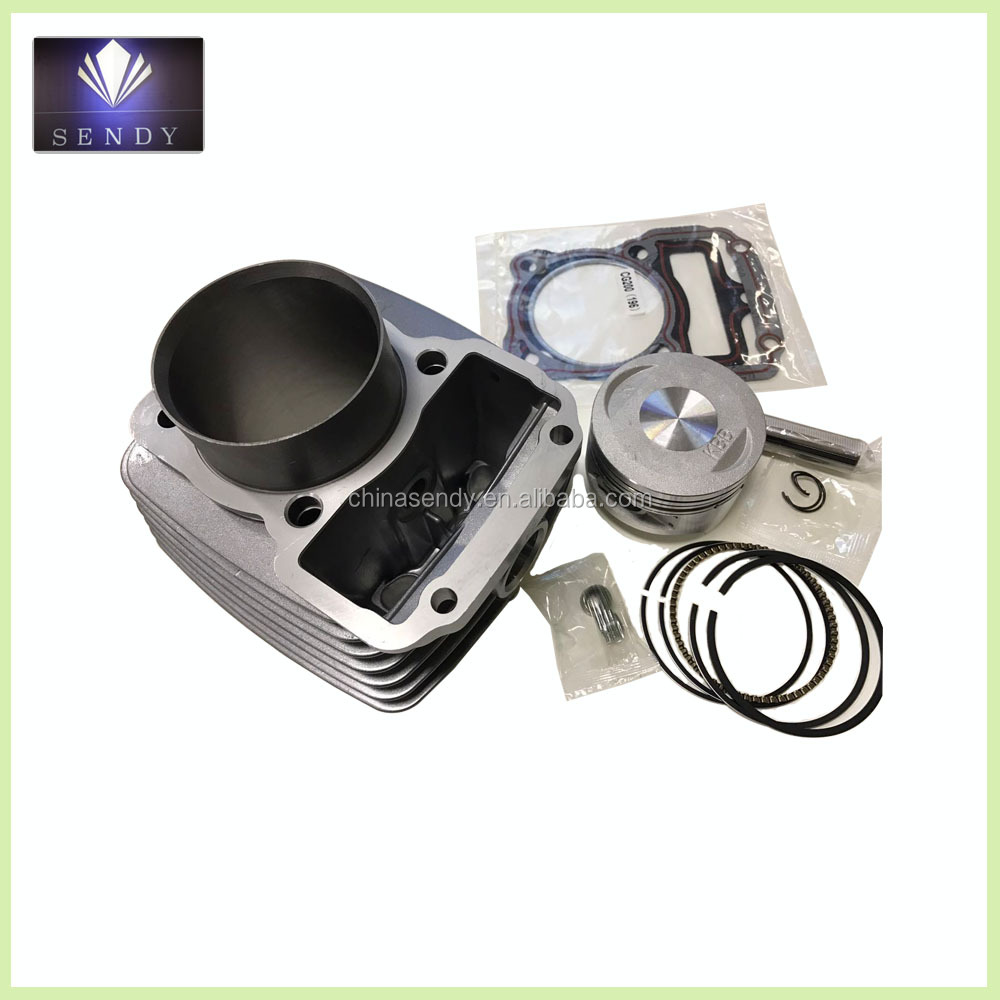 CG200 Grey motorcycle engine parts cylinder