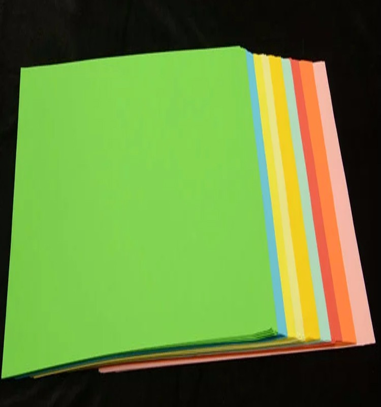 high quality 80gsm a4 size color copy paper