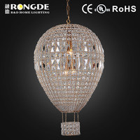 DM6147-4AGR brass chandelier with earrings crystal