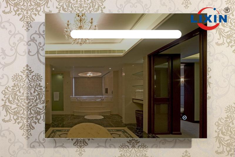 Diseño moderno China hacer dubai, cuarto de baño espejo con luz led ...