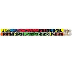 D2324 I Read With The Principal - 12 Reading Pencils