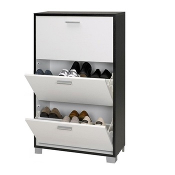 Modern Steel Office Furniture Adjule Shelves Shoe Rack Whole Display Cabinet Vertical