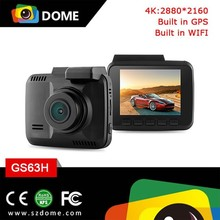 4K resolution Car dash camera GS63H built -in GPS with wifi g-Sensor 4K resolution