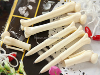 New bone shaped ball pen with string