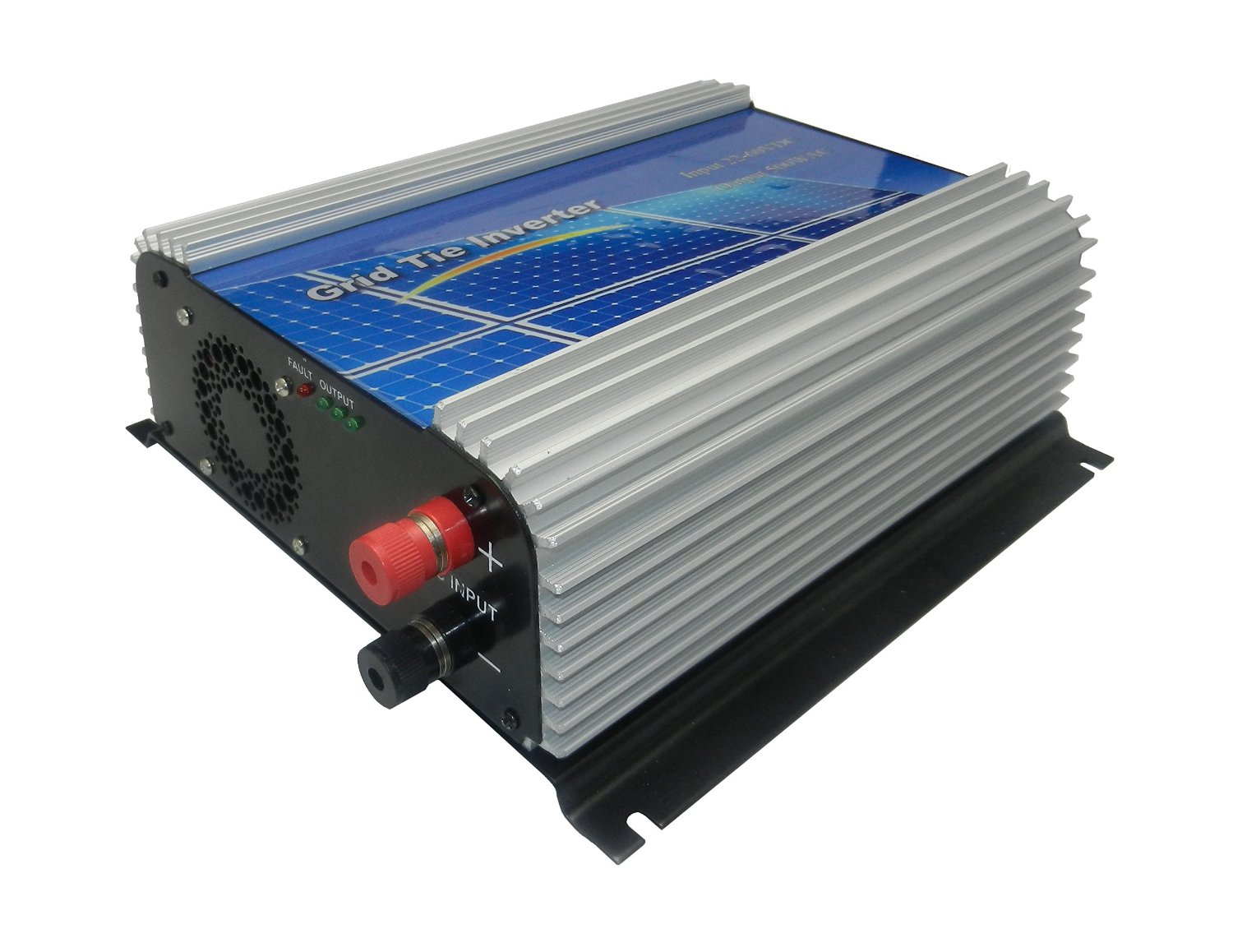 DECEN 500w(SUN-500G) High Efficiency Grid Tie Micro Inverter Output Pure Sine Wave, 22-60vdc,110vac,60hz for Home Solar System
