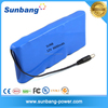 Portable rechargeable 18650 3S3P 12V 6600mah battery for Heating Clothes
