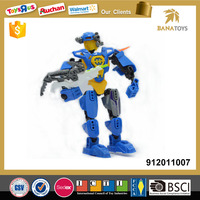 Plastic assemble wholesale toy robot