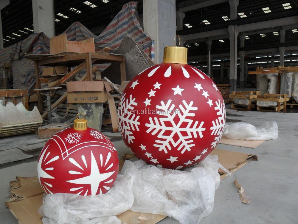 Large Outdoor Fiberglass Christmas Balls - Buy Christmas ...