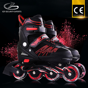 Harga murah Kualitas Baik sepatu roda bantalan Land 6087b Empat LED Flash Roda  Inline Skate 1d5b70c154