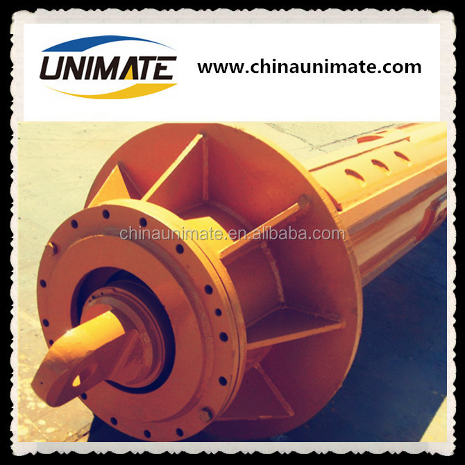 Manufacturer Customized Drilling Rotary Rig kelly bar Interlocking kelly bar for rotary piling rig Friction kelly bar