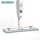 Magic 360 easy clean microfiber Aluminum handle 350ml water volume home floor cleaning microfiber wet and dry spray mop