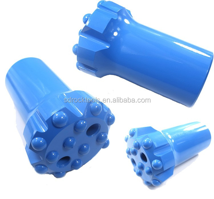 High quality T38 R32 Retrac / Drop Center Button Rock Bits / Mining Drilling Tools