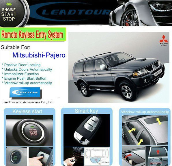 Chinese Manufacturer Supply One Way Keyless Entry Push Button ...
