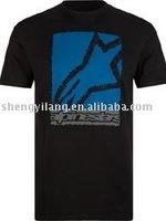 men's fashion design brand t shirt 180gsm clothing manufacturer