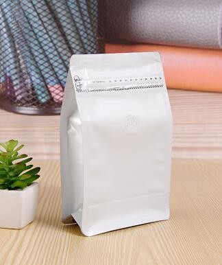 custom made flat bottom food packaging bag