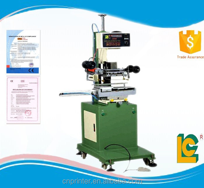 low price book hot foil stamping machine TC-250K hot foil blocking for sale