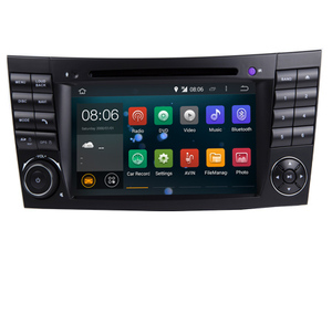 2017 Quad Core 1024*600 Touch Screen Car DVD Player for mercedes w211 Android 7.1 W209 W219 3G WIFI Radio Stereo GPS 3G Canbus
