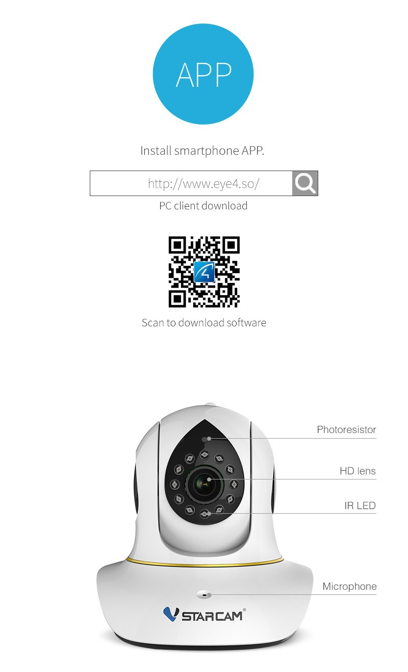 Wireless Pan Tilt Remote Control Wifi Smart Net Camera C38s - Buy Wifi  Smart Net Camera,Remote Control Wifi Smart Net Camera V380,Remote Control  Wifi