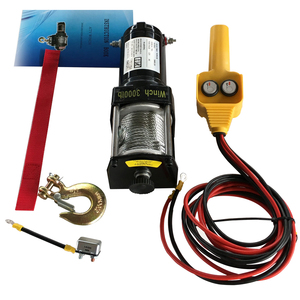 Portable Electric Winch Wireless Remote Control