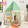 Indoor large playhouse toddler play tent most popular Indian toy teepee toddler play tent W08L011