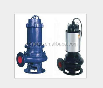 50QW15-25-2.2 Non-clog sewage pump 380V voltage mine large flow submersible pump fixed installation
