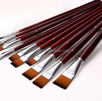 acrylic painting brush cheap paint brushes for artist