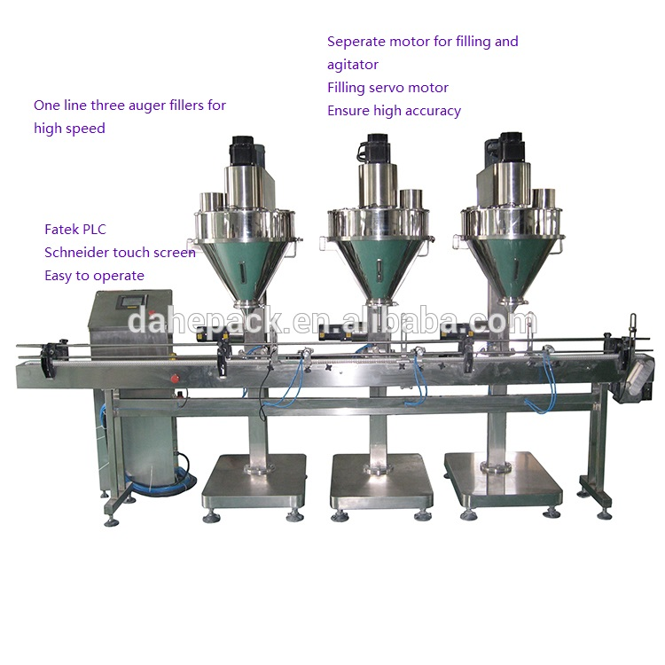 Chilli Tea Pepper Spice Salt automatic powder packing machine auger filler