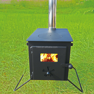 Outdoor wood fired camping stove for sell wood burner for tent