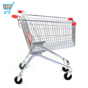 push shopping cart size quality large used supermarket designer trendy shopping trolleys carts for retail stores
