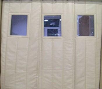 Keep Warm Winter Insulated Supermarket Workshop Door Curtain