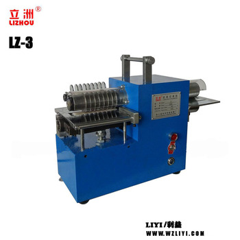 LZ-3 small electric cutting machine for belt making with low price