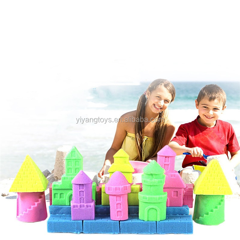 Factory wholesale play sand with 3c high quality 2018 magic sand educational toys