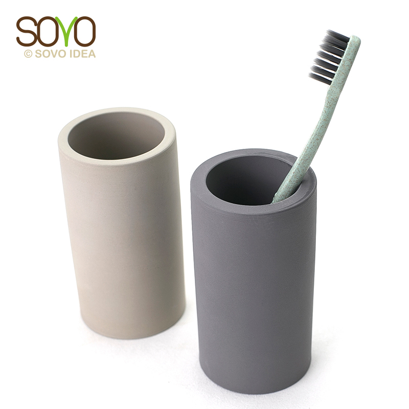 Factory Wholesale Anti-Bacterial Mould Proof Water Absorption Diatomite Toothbrush Holder фото