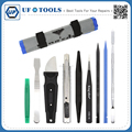9 in 1 Universal Pro Opening Pry Tool Kit Mobile Phone Computer Repair Tool kit With Canvas Bag