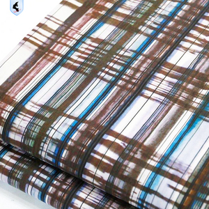new check pattern fabric 100% cotton for shirt
