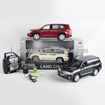 13d071ccf909 4 CH 1:14 масштаб RC автомобили Toyota LAND CRUISER авторизованный RC автомобиль  toyota игрушка